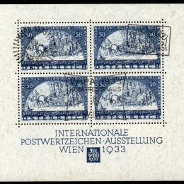 1933 - Austria Foglietto : W.I.P.A. (BF1)