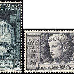 1937 Italia Regno: Augusto (N°416/25+A) s. cpl.