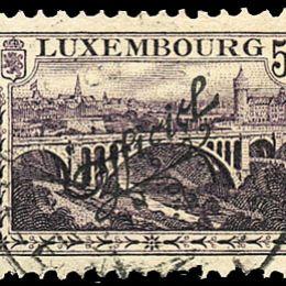 "1922 Lussemburgo: Servizi - soprastampati ""Officiel"" (N°129/42) s. cpl."