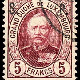 1892 Lussemburgo: Servizi - soprastampati S.P. (N°67/76) s. cpl.