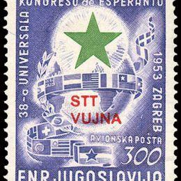 "1953 Triste ""B"": Esperanto (PA 20)"
