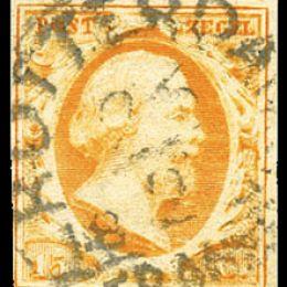 1852 Olanda: effigie di Re Guglielmo III (N°1/3) s. cpl.