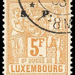 1882 Lussemburgo: Servizi - soprastampati S.P. (N°54/65) s. cpl.