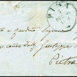 1862 Italia Regno: 10c. arancio rossastro (N°1j)