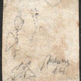 1858 Napoli 50gr. rosa brunastro (N°14)