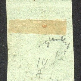1849 Francia: Cerere 15 c. verde (N°2)