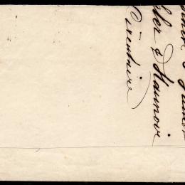 1854 Svizzera: Strubel 2r. grigio, filo di seta verde (N°25)