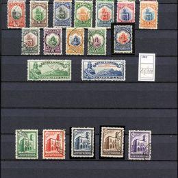 1877/1995 San Marino: avanzata collezione del periodo con diverse buone emissioni di PO e PA