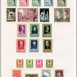 1946/1990 Belgio: collezione quasi completa