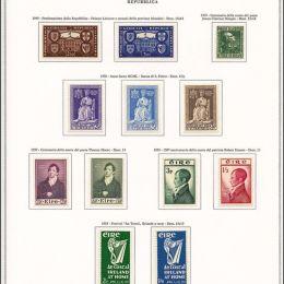 1929/1992 Irlanda: collezione completa dal 1937