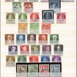 1949/1990 Germania Berlino: collezione completa