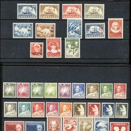 1938/2006 Groenlandia: collezione virtualmente completa del periodo