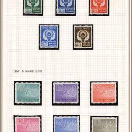 1949/1973 Indonesia: collezione quasi completa del periodo