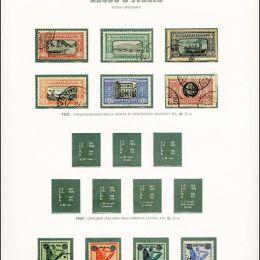 1862/1943 Italia Regno: collezione cpl. di P.O. e P.A.
