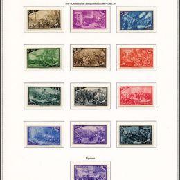 1945/95 Italia Repubblica: collezione cpl. del periodo inclusi i Servizi