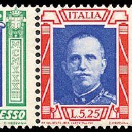 """1933 Italia Regno: Posta Aerea - Crociera Nord Atlantica, trittici """"I-NANN"""" (N°51L/52L) s.cpl."""