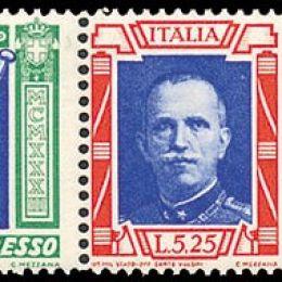"1933 Italia Regno: Posta Aerea - Crociera Nord Atlantica, trittici ""I-RECA"" (N°51Q/52Q) s.cpl."